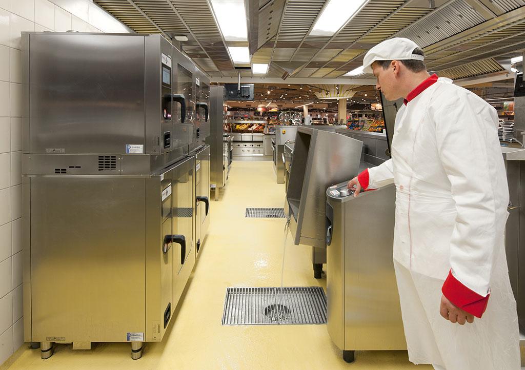 ACO cozinhas industriais